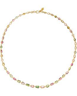 18-karat Gold Tourmaline Necklace