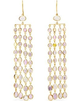 18-karat Gold Sapphire Earrings