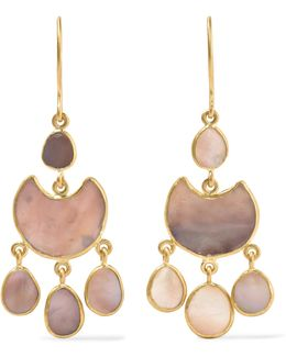 18-karat Gold Shell Earrings