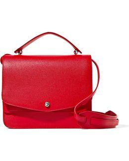 Eloise Textured-leather Shoulder Bag