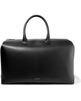 Travel Leather Weekend Bag