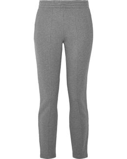 French Cotton-terry Track Pants