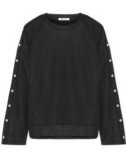 Coated French Terry Sweatshirt