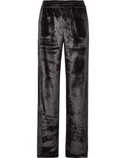 Ardon Velvet Wide-leg Pants