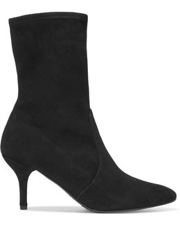 Cling Suede Ankle Boots
