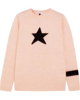 Star Mohair-blend Sweater