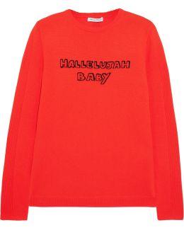 Hallelujah Baby Intarsia Wool Sweater