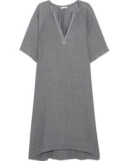 Darby Crinkled-cotton Gauze Nightdress