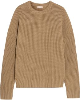 Ribbed Cashmere-blend Sweater