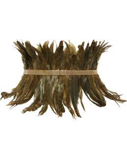 Selva Gold-tone Feather Waist Belt