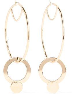 Nubia Gold-plated Hoop Earrings