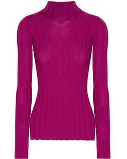 Ribbed Merino Wool Sweater