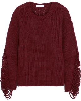 Vasily Laddered Wool-blend Sweater