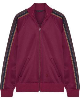Striped Tech-jersey Jacket