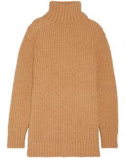 Wool And Alpaca-blend Turtleneck Sweater