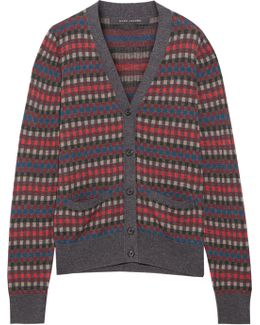 Wool-jacquard Cardigan