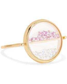 Chivor 18-karat Gold, Sapphire And Topaz Ring