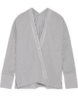 Sabine Striped Cotton-poplin Shirt
