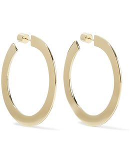 Drew Baby Gold-plated Hoop Earrings