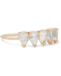 14-karat Gold Topaz Ring