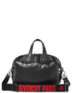 Small Nightingale Leather-trimmed Shell Tote