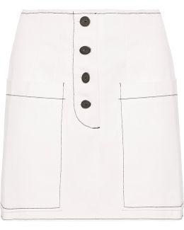 Elise Denim Mini Skirt