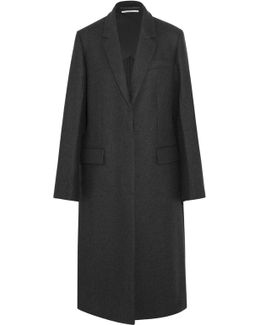 Oversized Split-side Wool Coat