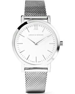 Lugano Stainless Steel Watch