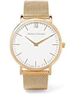 Lugano Gold-plated Watch