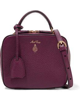 Laura Baby Textured-leather Shoulder Bag
