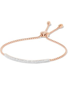 'stellar' Diamond Mini Bar Bracelet