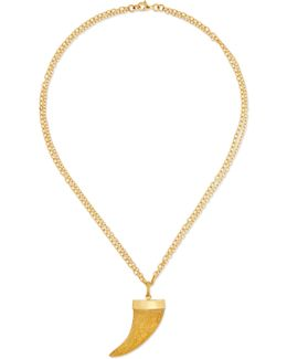 Corno 18-karat Gold Necklace