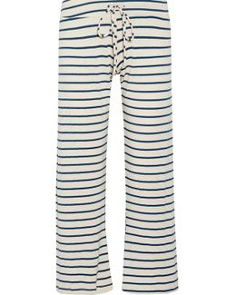 Lounge Striped Jersey Pajama Pants