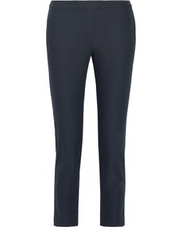 Thaniel Approach Cropped Stretch Cotton-blend Twill Slim-leg Pants