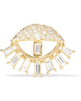 Sleepy Eye 18-karat Gold Diamond Earring