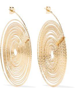 Soffio Gold-tone Earrings