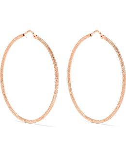 Mirador 18-karat Rose Gold Hoop Earrings