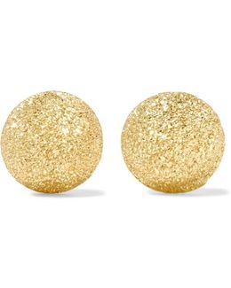 Florentine 18-karat Gold Earrings