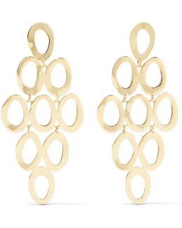 Glamazon Cascade 18-karat Gold Earrings