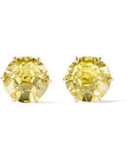 Rock Candy® 18-karat Gold Citrine Earrings