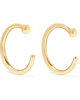 14-karat Gold Hoop Earrings