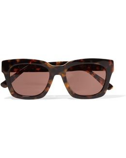 Alice Square-frame Acetate Sunglasses
