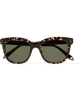 The Vb D-frame Acetate Sunglasses
