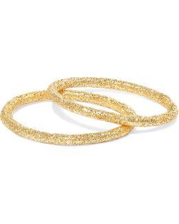 Set Of Two 18-karat Gold Rings