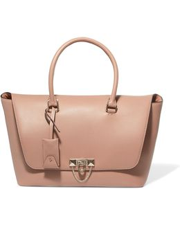 The Rockstud Small Leather Tote