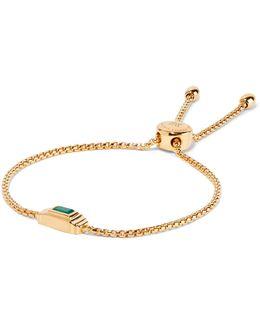Baja Deco Gold Vermeil Onyx Bracelet