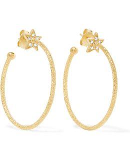 Shooting Star 18-karat Gold Diamond Earrings