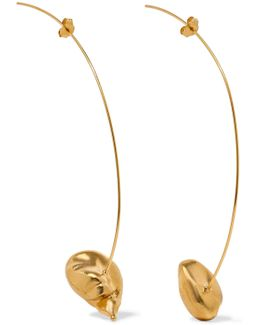 Moment Of Clarity Gold-plated Earrings