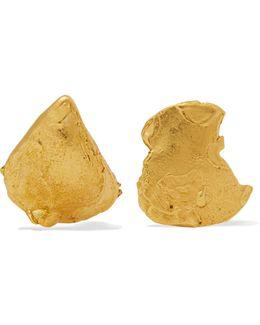 Starless Sky Gold-plated Earrings