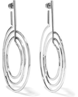 Off-white Silver-plated Earrings